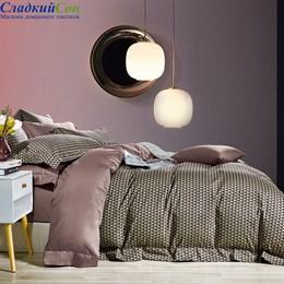 Комплект постельного белья Asabella 1,5-спальный египетский хлопок 1521-4s