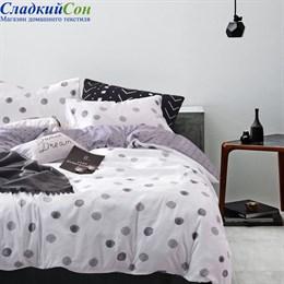 Комплект постельного белья Asabella 1353-7 Семейный белый