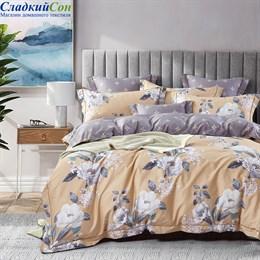 Комплект постельного белья Asabella 1462-7 Семейный песочный