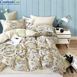 Комплект постельного белья Asabella 1409-6 Евро бежевый