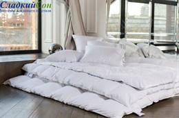 Одеяло White Familie Down, 220х240 теплое, с бортиком