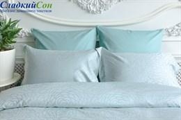 Комплект постельного белья Azur Palette Grass Евро