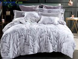 Комплект постельного белья Семейный, печатный сатин 1491-7