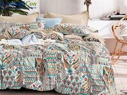 Комплект постельного белья Asabella 1,5-спальный, печатный сатин 1498-4S