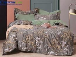 Комплект постельного белья 1,5-спальный, печатный сатин 1507-4S