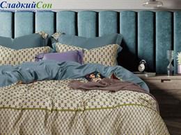 Комплект постельного белья Asabella 1,5-спальный, тенсел-люкс 1524-4S