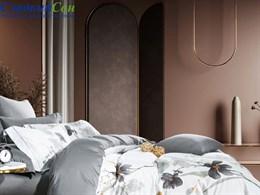 Комплект постельного белья Евро, египетский хлопок 1536-6/180*30